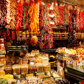 Barcelona Food Market by Ewan Allardice - Food & Drink Fruits & Vegetables ( market, food, las ramblas, barcelona, spain )