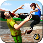Neighbor Mom Fighter Game Icon