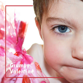 Grumpy Valentine by Shannon Maltbie-Davis - Typography Captioned Photos