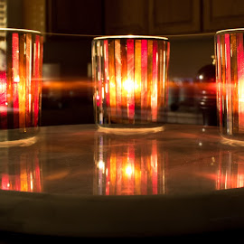 Vanishing Light by Michael Anderson - Abstract Light Painting ( candle, candle light, long exposure, light, photography )