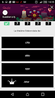 Screenshot of Paris Guide Monument Tracker