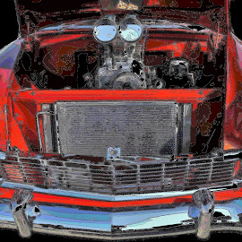 1956 Chevy by Benito Flores Jr - Digital Art Things
