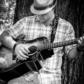 Song in the Park by Jason Barnett - People Musicians & Entertainers