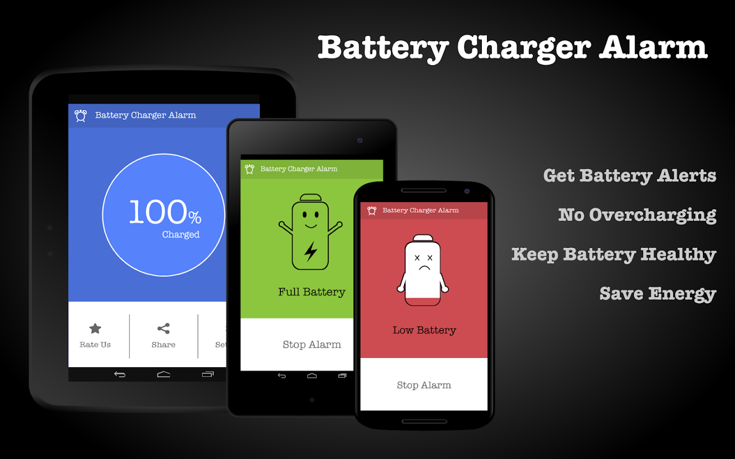 Battery Charger Alarm Screenshot 5