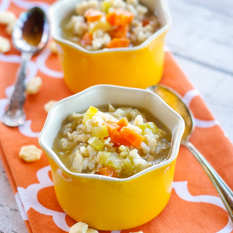 Gobble-Good Roasted Turkey & Rice Soup