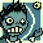 Pixel Zombie Galaxy Icon