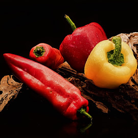 Paprika by Dirk Rosin - Food & Drink Fruits & Vegetables