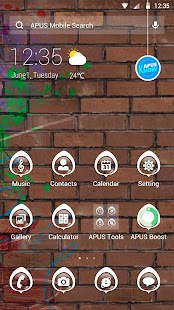 Play-APUS Launcher theme - screenshot