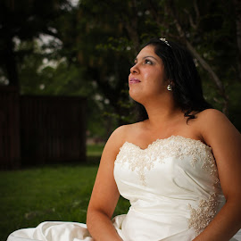 Wedding Day Glow by Ashley Saed - Wedding Bride ( weddingphotography, lubbockphotographer, lubbocktexas, lubbockweddings )