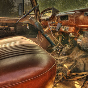 Old Truck by John Klingel - Artistic Objects Other Objects ( hdr )