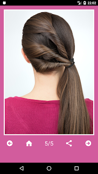 Best Hairstyles Step By Step APK screenshot thumbnail 7