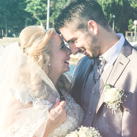 Smile by Andrea Gržičić - Wedding Bride & Groom ( love, wedding photography, wedding, smile, groom )