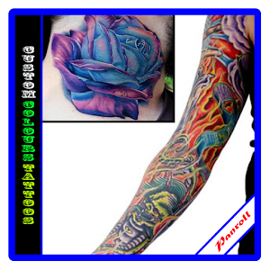 custom colours tattoos