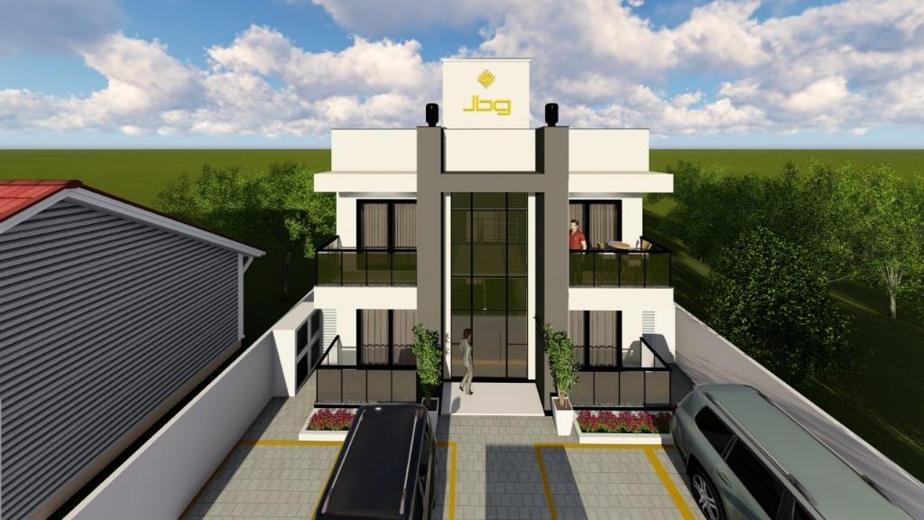 Apartamento com 3 dormitórios à venda, 72 m² por R$ 229.000 - Joaia - Tijucas/SC