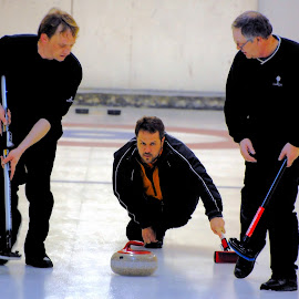 Curling Bonspiel by Don Mann - Sports & Fitness Other Sports