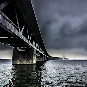 The Bridge by Björn Olsson - Buildings & Architecture Bridges & Suspended Structures ( sweden, bridge )