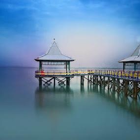 Kenjeran Beach by Daniel Chang - Landscapes Waterscapes