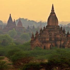 Bagan, Myanmar by Leana Niemand - Buildings & Architecture Places of Worship