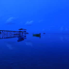 Jetty by Abd Malik Arip - Landscapes Waterscapes