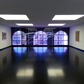 Museo del 900 in Milan by Daniele Cileo - Buildings & Architecture Other Interior ( tagli nelle tele, hall, arte, fontana's hall, museo del 900, fontana, milano )