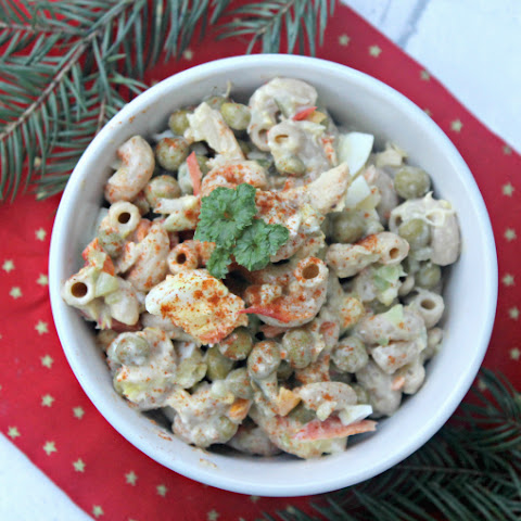 Whole Grain Tuna Macaroni Salad