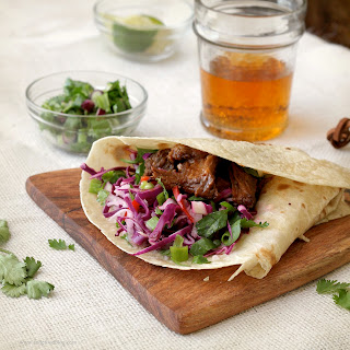 Beer-Braised Chipotle Short Ribs with Jicama Slaw