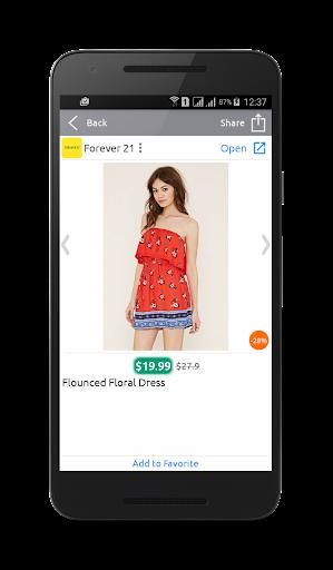 Discounts - screenshot