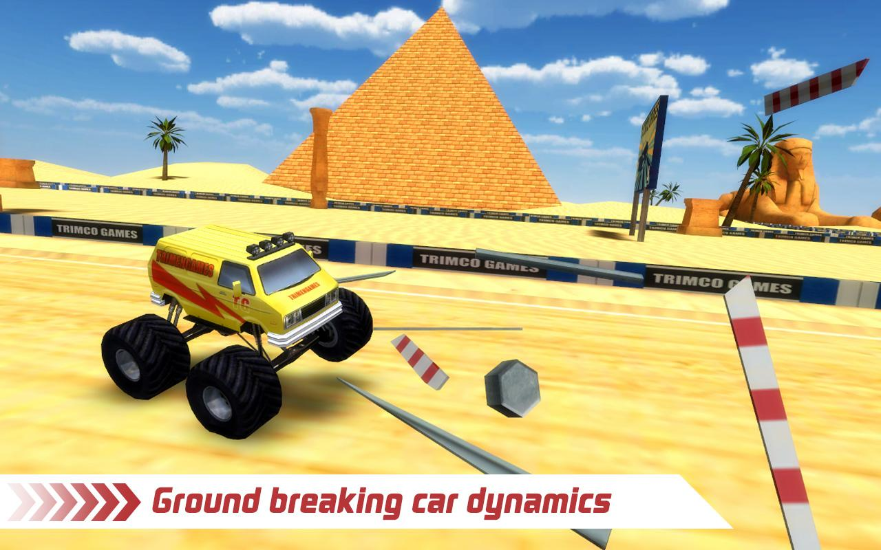 Monster Truck 4x4 Stunt Racer Screenshot 5
