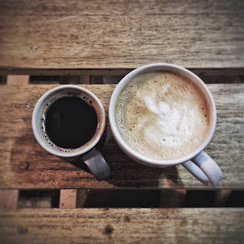Pair by Mochamad Anas - Food & Drink Alcohol & Drinks ( cup, still life, coffee, drink, couple, photography )