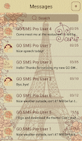 Screenshot of GO SMS Pro Paris