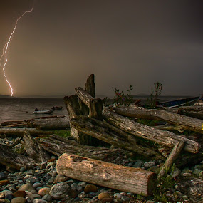 San Juan Zapper by Carrie Cole - Landscapes Weather ( lightning )
