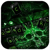 Download Darkness Skull Keyboard Theme APK to PC