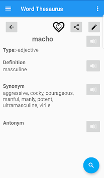 English Thesaurus By EagleInc Thesaurus APK screenshot thumbnail 4