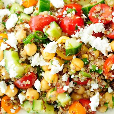 10 Best Chickpea Cucumber Salad Feta Recipes | Yummly