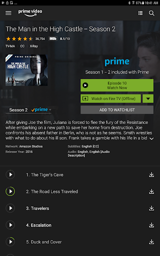 Amazon Prime Video screenshot 6