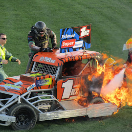 Lucky Escape by Scott Milne - Sports & Fitness Motorsports
