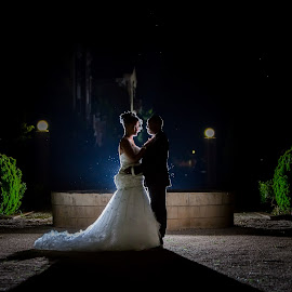 Fountain by Lodewyk W Goosen (LWG Photo) - Wedding Bride & Groom ( lood goosen photography, wedding photographers, bridal photos, loodgoosen, best gauteng photographer, bride photos, lwgphoto, best wedding photographers, night photography, groom photos, weddings, groom posing ideas, bride and groom, bride, bride groom, lood goosen, brides, velmore hotel, wedding photographer velmore hotel, lwgphoto.co.za, best wedding photographer in gauteng, lwg photo, wedding, wedding photographer, best weding photographer, velmore photographer, groom )