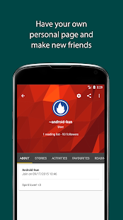 Download Free Books - Spirit Fanfiction and Stories APK for Android Kitkat