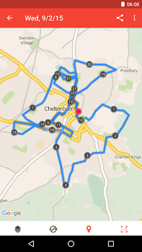 Runtastic Road Bike Cycling GPS Tracker screenshot 4