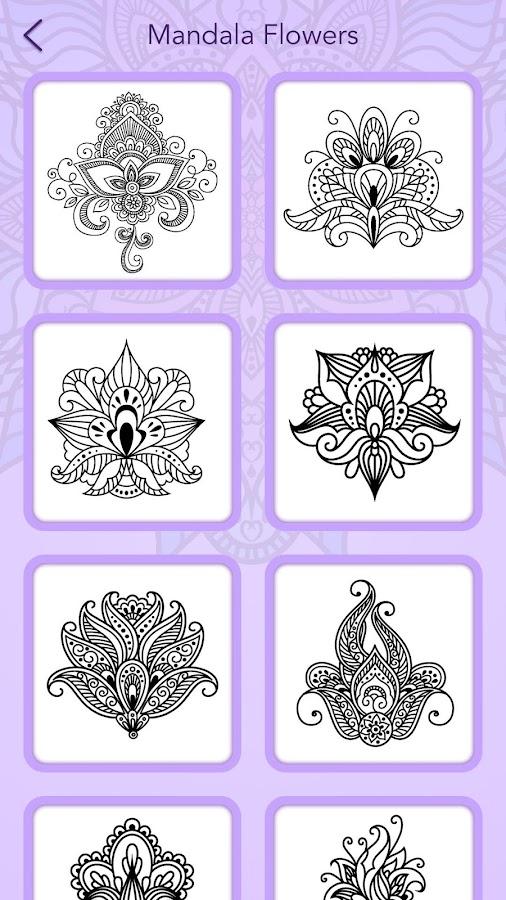 Mandala Coloring Book Screenshot 7
