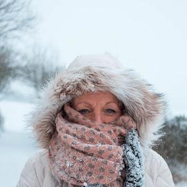 Snow Day by Aaron Coltman - Novices Only Portraits & People ( snow, portrait photographers, portrait, snowy, portraiture )
