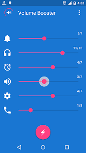 Volume Level Booster Pro - screenshot
