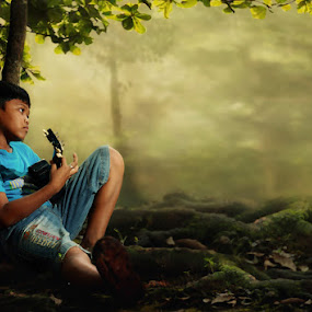 senandung sore... by M Herry Firmansyah - Babies & Children Children Candids