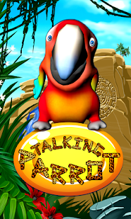 Talking Parrot - screenshot