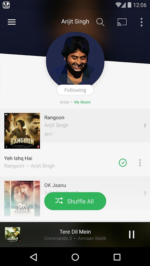 Saavn Music & Radio Screenshot 1