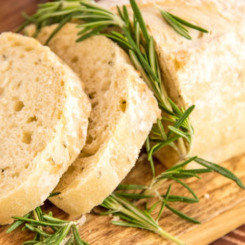 Slow Cooker Lemon Rosemary Bread