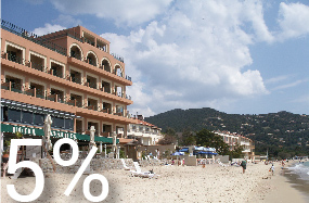 Hotel Ibersol Cavaliere Sur Plage </br> Costa Azul