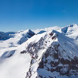Untitled Alaska by Kelly Maize - Landscapes Mountains & Hills ( mountain, alaska, snow, mountain range, landscape, photography )
