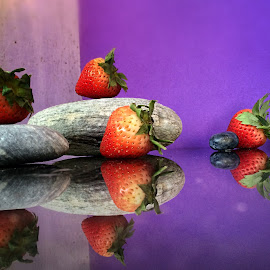 Strawberry rocks by Janette Ho - Food & Drink Fruits & Vegetables