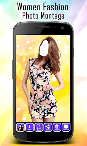 android Women Fashion Photo Montage Screenshot 5